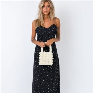 Heart b&w maxi dress 🖤